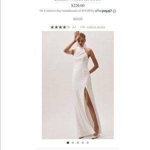 BHLDN White Dress Sz 4 - Wedding or Rehearsal